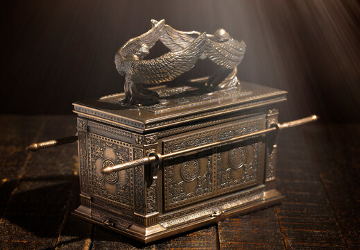 Ark of the Covenant  in Dramatic Sunlight