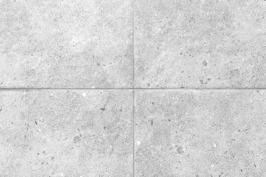 Outdoor white block stone floor pattern and background seamless