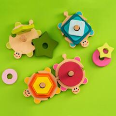Obraz Zabawki dla dzieci - fototapety do salonu