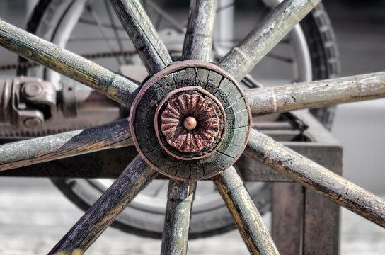 Full Frame Shot Of Wheel
