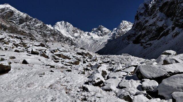 Rata-do At 14,400 Feet, Is Along The Trek Route Of Borasu Pass, Uttarakhand-himachal Pradesh, India