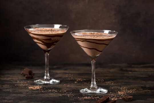 Chocolate Truffle Martini Cocktail
