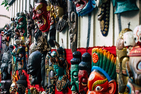 Masks For Sale At Market