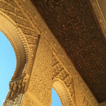 The Alhambra Of Granada. One Of The Most Beautiful Piece Of Architecture In The World.