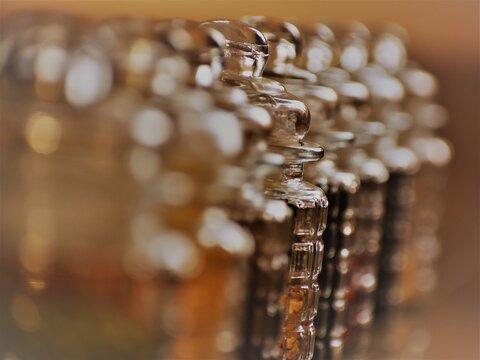 Close-up Of Jars