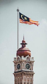 Malaysian Flag - Kuala Lumpur