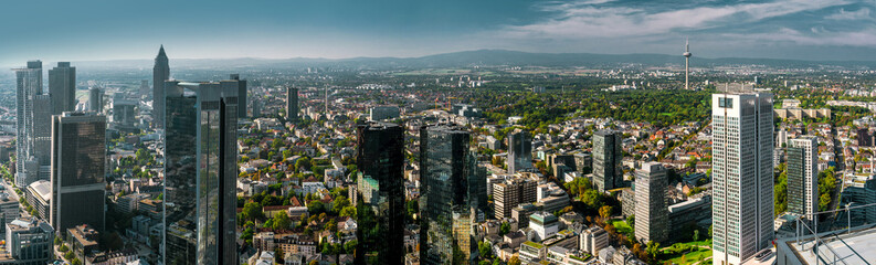 Panoramic View Of Cityscape Against Sky Fototapete