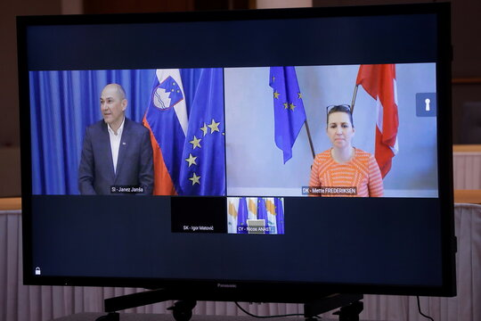 EU Council president's meeting ahead of EU Summit
