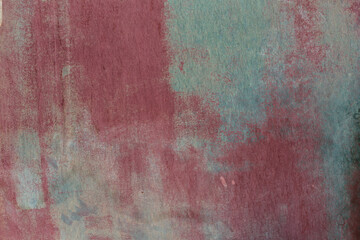 Abstract grunge wall texture in pink and green pastel colors
