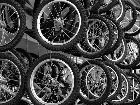 Bicycles At Store For Sale