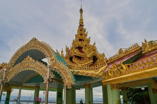 U min thong ze pagoda at Sagaing, Myanmar (Burma)