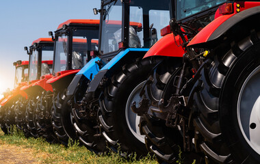Agricultural tractors sale