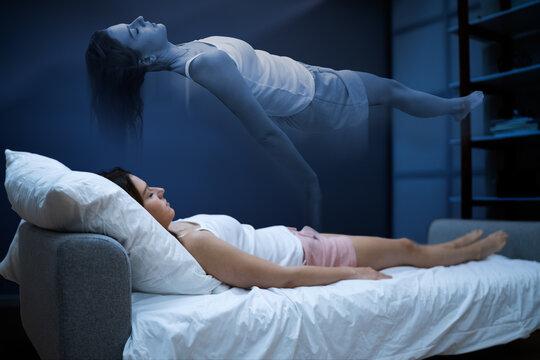 Woman Ghost Or Spirit Nightmare