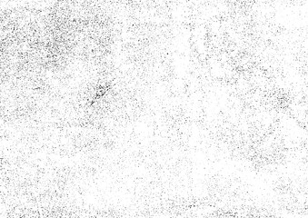 グランジテクスチャ素材 壁面砂嵐調 ムラ多め 白黒(ベクター、eps10)