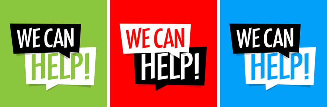 We can help !