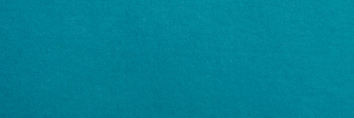 background and texture turquoise abaca (manila hemp) paper the oldest existing paper mill in Capellades, Spain, panoramic web banner