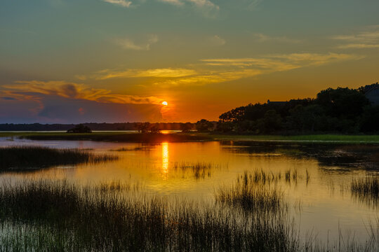 Sunset Over Bohicket Creek
