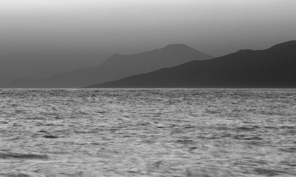 sunrise in Icaria, Greece