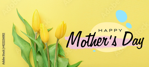 Beautiful greeting card for Mother's Day celebration