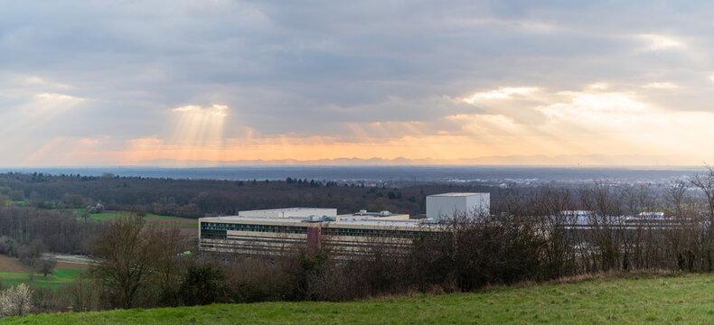 Blick vom Spiegelberg