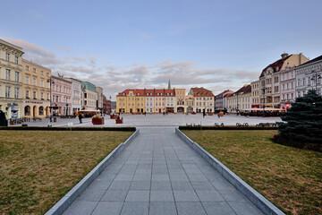Obraz Stary Rynek w Bydgoszczy. - fototapety do salonu