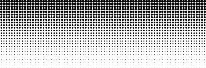 Fototapeta horizontal black dot circle for pattern and background obraz