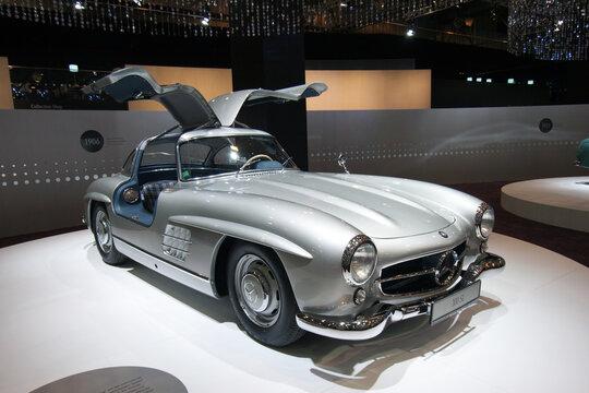 Mercedes-Benz 300 SL classic sports car
