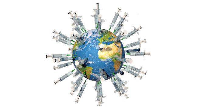 Weltweite Impfkampagne gegen das Coronavirus