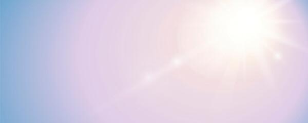 Obraz bright sunny sky background with copy space - fototapety do salonu