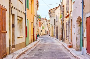 Historic housing of Tarascon, France