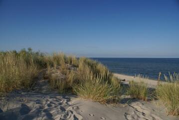 morze wydma odpoczynek na plaży