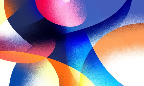 the colorful gradient and noise background. colorful pattern illustration for wallpaper, poster, flyer, and any design. multicolor gradation and noise texture.