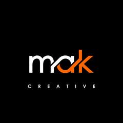 Fototapeta MAK Letter Initial Logo Design Template Vector Illustration