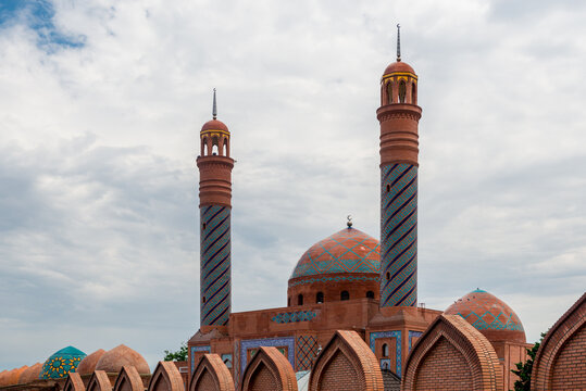 Imamzadeh Mausoleum in Ganja the second biggest city of Azerbaijan