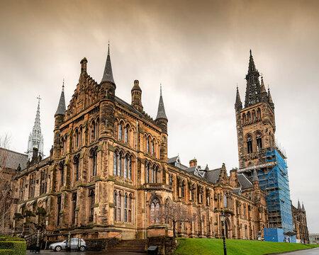Glasgow University Main Building Front
