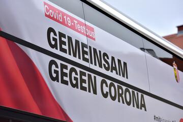 Corona-Testbus