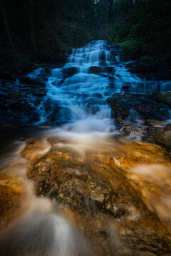 Minnehaha Falls, Epic Cascade in Chattahoochie Nat'l Forest, Georgia