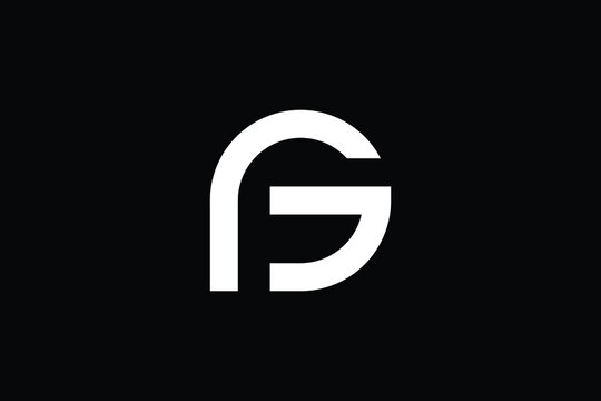 PG logo letter design on luxury background. GP logo monogram initials letter concept. PG icon logo design. GP elegant and Professional letter icon design on black background. P G GP PG