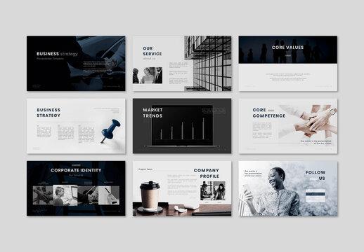 Business Marketing Presentation Layout