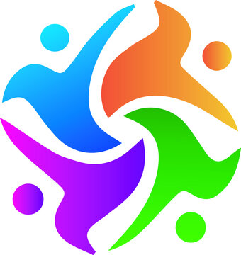 abstract icon set vector logo design