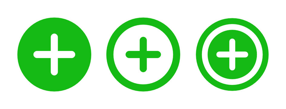Add, add to, circle, enlarge, open, plus, new sign icon illustration.