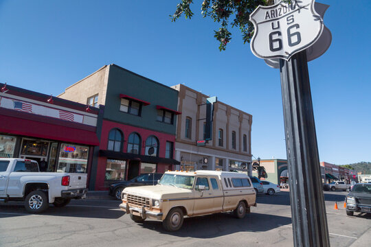U.S. Route 66 also known as the Mother Road