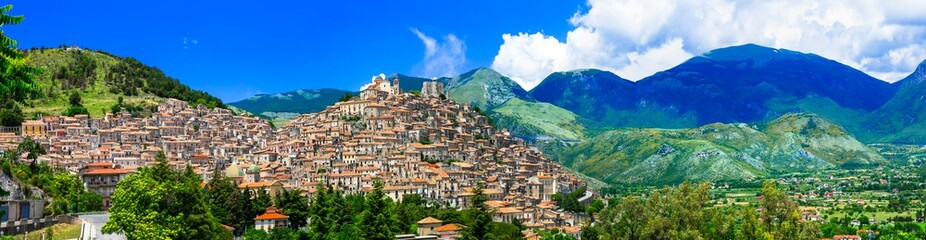 Morano Calabro - one of the most beautiful medieval villages of Italy, Calabria region