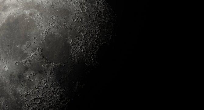 Close Up of Moon