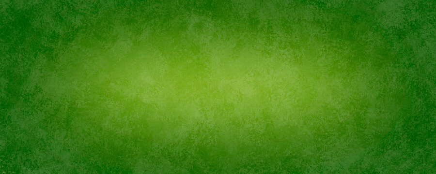 Green Marbled Watercolor Paper Texture Banner Background