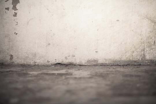 Textured background of an old obsolete limed wall