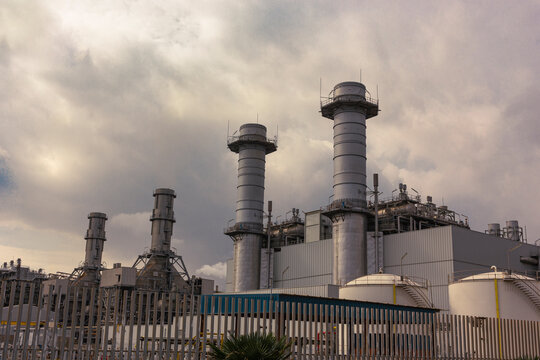 Thermal power plant for electric energy production