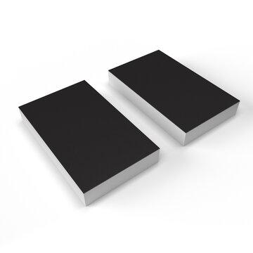 名刺のモックアップ用画像(黒)
