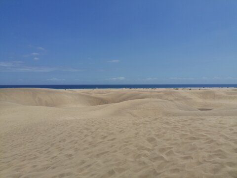 sand beach and sky