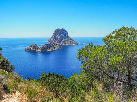 Ibiza - unbewohnte Insel Es Vedra